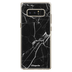 Plastové pouzdro iSaprio black Marble 18 na mobil Samsung Galaxy Note 8