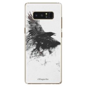 Plastové pouzdro iSaprio Havran 01 na mobil Samsung Galaxy Note 8