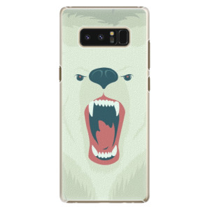Plastové pouzdro iSaprio Angry Bear na mobil Samsung Galaxy Note 8