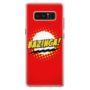 Plastové pouzdro iSaprio Bazinga 01 na mobil Samsung Galaxy Note 8