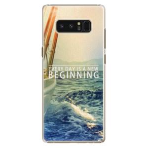 Plastové pouzdro iSaprio Beginning na mobil Samsung Galaxy Note 8