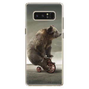 Plastové pouzdro iSaprio Bear 01 na mobil Samsung Galaxy Note 8
