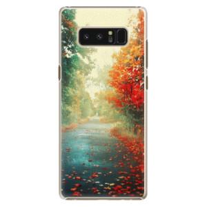 Plastové pouzdro iSaprio Autumn 03 na mobil Samsung Galaxy Note 8