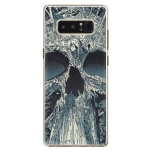 Plastové pouzdro iSaprio Abstract Skull na mobil Samsung Galaxy Note 8