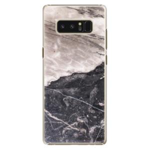 Plastové pouzdro iSaprio BW Marble na mobil Samsung Galaxy Note 8
