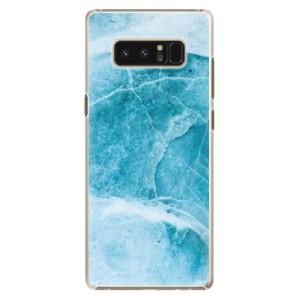 Plastové pouzdro iSaprio Blue Marble na mobil Samsung Galaxy Note 8