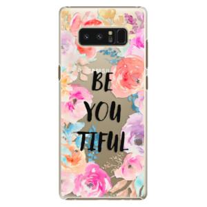 Plastové pouzdro iSaprio BeYouTiful na mobil Samsung Galaxy Note 8