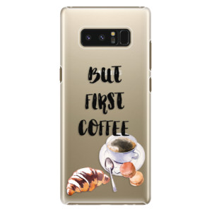 Plastové pouzdro iSaprio Ranní Kávička na mobil Samsung Galaxy Note 8 - poslední kus za tuto cenu