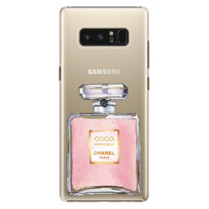 Plastové pouzdro iSaprio Chanel Rose na mobil Samsung Galaxy Note 8