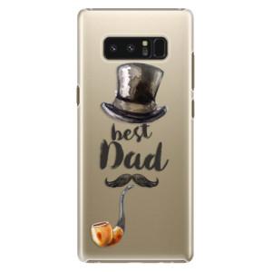 Plastové pouzdro iSaprio Best Dad na mobil Samsung Galaxy Note 8