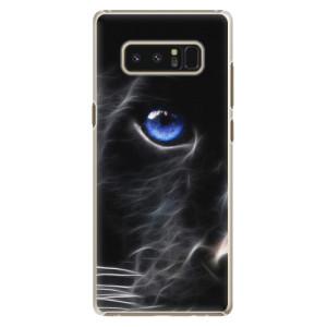 Plastové pouzdro iSaprio black Puma na mobil Samsung Galaxy Note 8