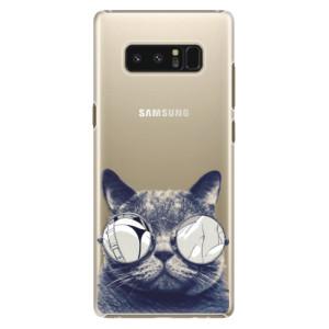 Plastové pouzdro iSaprio Šílená Číča 01 na mobil Samsung Galaxy Note 8