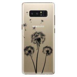 Plastové pouzdro iSaprio Tři Černé Pampelišky na mobil Samsung Galaxy Note 8