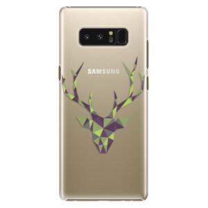 Plastové pouzdro iSaprio Zelený Jelínek na mobil Samsung Galaxy Note 8