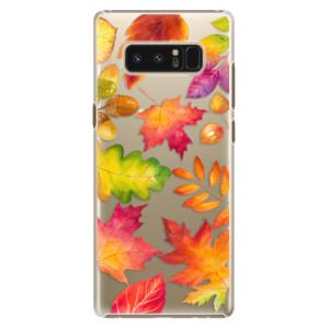 Plastové pouzdro iSaprio Autumn Leaves 01 na mobil Samsung Galaxy Note 8