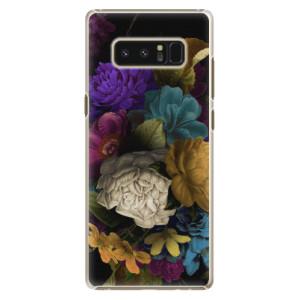 Plastové pouzdro iSaprio Temné Květy na mobil Samsung Galaxy Note 8
