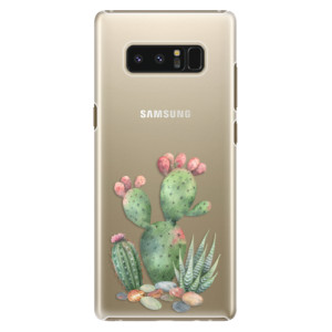 Plastové pouzdro iSaprio Kaktusy 01 na mobil Samsung Galaxy Note 8