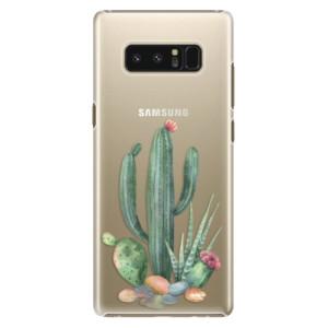 Plastové pouzdro iSaprio Kaktusy 02 na mobil Samsung Galaxy Note 8