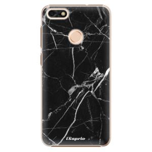 Plastové pouzdro iSaprio black Marble 18 na mobil Huawei P9 Lite Mini