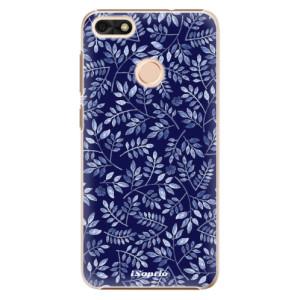 Plastové pouzdro iSaprio Blue Leaves 05 na mobil Huawei P9 Lite Mini