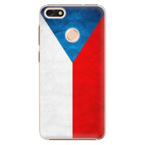 Plastové pouzdro iSaprio Česká Vlajka na mobil Huawei P9 Lite Mini