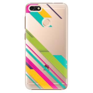 Plastové pouzdro iSaprio Barevné Pruhy 03 na mobil Huawei P9 Lite Mini