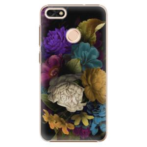 Plastové pouzdro iSaprio Temné Květy na mobil Huawei P9 Lite Mini
