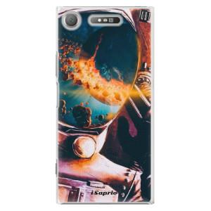 Plastové pouzdro iSaprio Astronaut 01 na mobil Sony Xperia XZ1