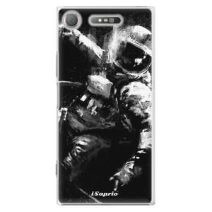 Plastové pouzdro iSaprio Astronaut 02 na mobil Sony Xperia XZ1