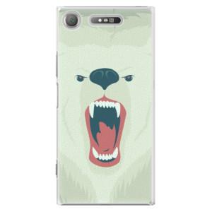 Plastové pouzdro iSaprio Angry Bear na mobil Sony Xperia XZ1