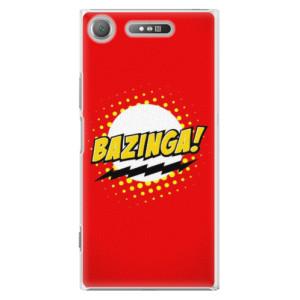 Plastové pouzdro iSaprio Bazinga 01 na mobil Sony Xperia XZ1