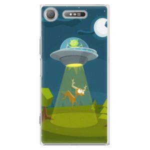 Plastové pouzdro iSaprio Alien 01 na mobil Sony Xperia XZ1