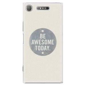 Plastové pouzdro iSaprio Awesome 02 na mobil Sony Xperia XZ1