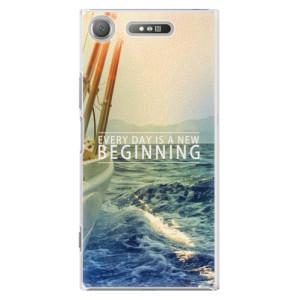 Plastové pouzdro iSaprio Beginning na mobil Sony Xperia XZ1
