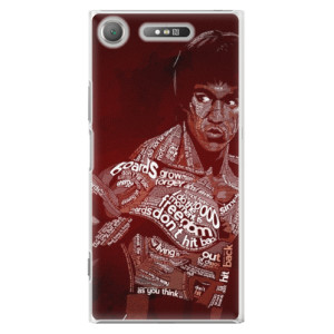 Plastové pouzdro iSaprio Bruce Lee na mobil Sony Xperia XZ1