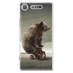 Plastové pouzdro iSaprio Bear 01 na mobil Sony Xperia XZ1