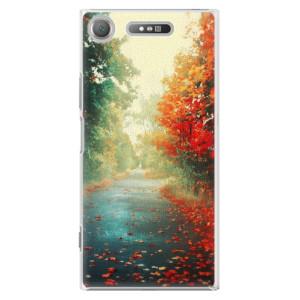 Plastové pouzdro iSaprio Autumn 03 na mobil Sony Xperia XZ1