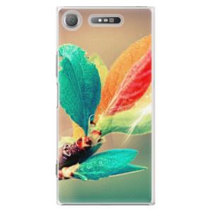 Plastové pouzdro iSaprio Autumn 02 na mobil Sony Xperia XZ1