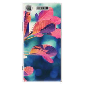 Plastové pouzdro iSaprio Autumn 01 na mobil Sony Xperia XZ1