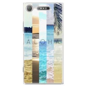 Plastové pouzdro iSaprio Aloha 02 na mobil Sony Xperia XZ1