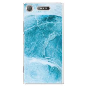 Plastové pouzdro iSaprio Blue Marble na mobil Sony Xperia XZ1