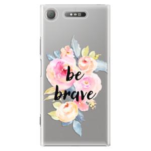 Plastové pouzdro iSaprio Be Brave na mobil Sony Xperia XZ1