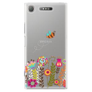 Plastové pouzdro iSaprio Bee 01 na mobil Sony Xperia XZ1