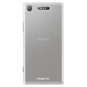 Plastové pouzdro iSaprio 4Pure mléčné bez potisku na mobil Sony Xperia XZ1