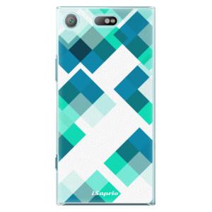 Plastové pouzdro iSaprio Abstract Squares 11 na mobil Sony Xperia XZ1 Compact