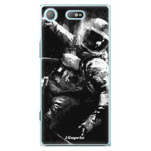 Plastové pouzdro iSaprio Astronaut 02 na mobil Sony Xperia XZ1 Compact