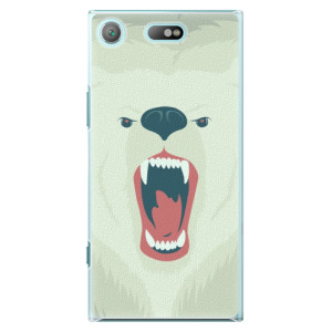 Plastové pouzdro iSaprio Angry Bear na mobil Sony Xperia XZ1 Compact