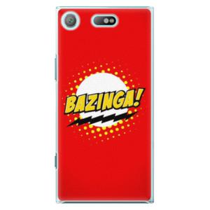 Plastové pouzdro iSaprio Bazinga 01 na mobil Sony Xperia XZ1 Compact