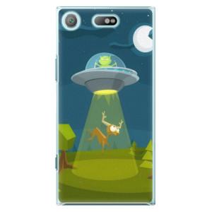 Plastové pouzdro iSaprio Alien 01 na mobil Sony Xperia XZ1 Compact