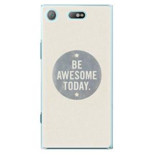 Plastové pouzdro iSaprio Awesome 02 na mobil Sony Xperia XZ1 Compact